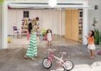 Garagem se transforma em brinquedoteca para duas meninas (Foto: Adriano Escanhuela/ Arquitetura & Construção)