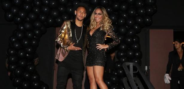 Neymar e irmã Rafaella, que quer ser apresentadora de TV; até agora, sem sucesso