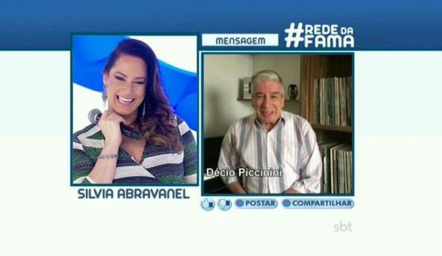 26.jul.2015 - Silvia Abravanel, filha número dois de Silvio Santos, criticou o apresentador da Record, Gugu Liberato, durante participação no programa da Eliana, no início da noite deste domingo (26).