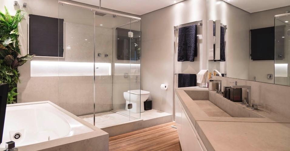 Banheiros casa e decora o uol mulher - Pisos pilotos decorados ...