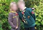 """""""Não quero ter barba"""": menina transgênero de 9 anos comenta temores pós-transição - Arquivo pessoal/BBC"""