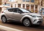 Toyota mostra a cara real do C-HR - Divulgação