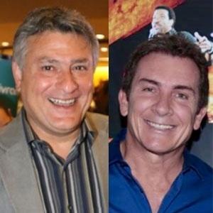 Cleber Machado e Murilo Fraga se enfrentam em jogo de emissoras