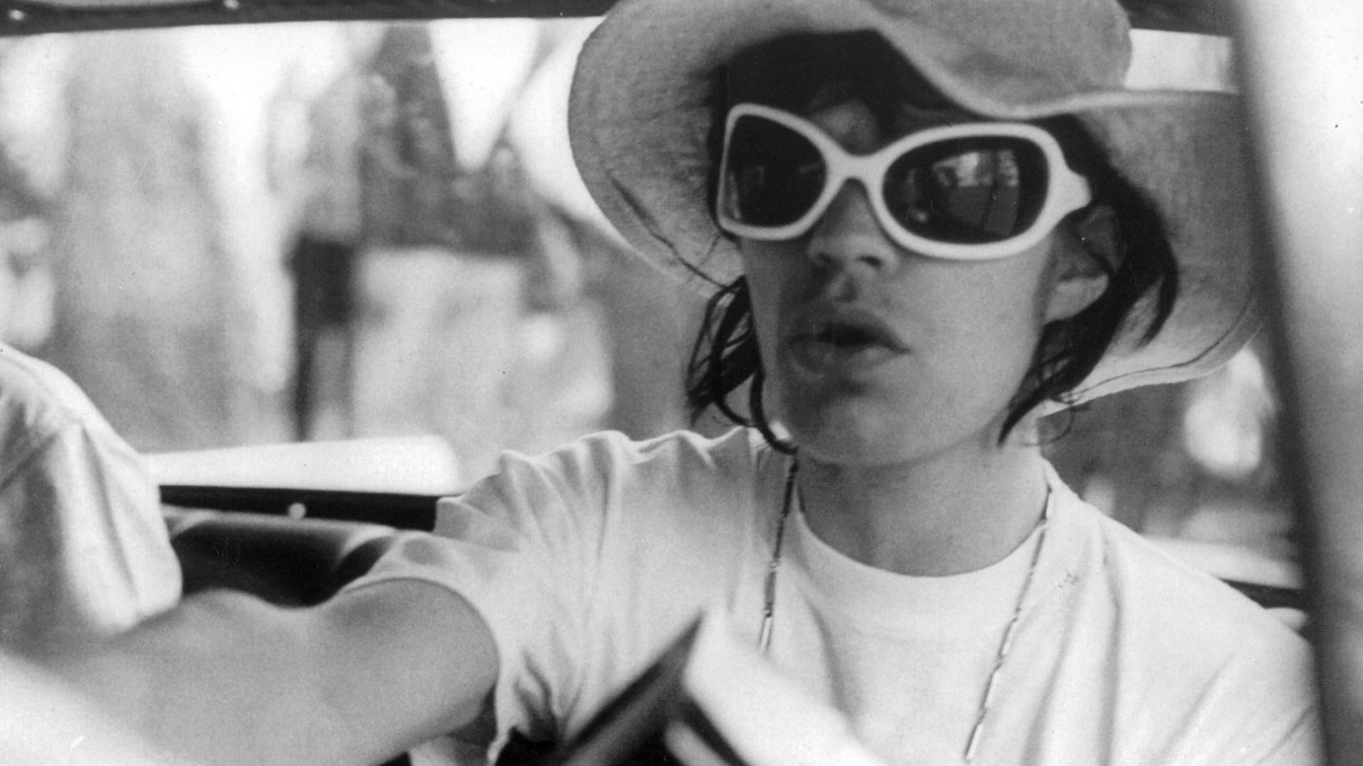 O vocalista da banda inglesa The Rolling Stones, Mick Jagger, é visto durante visita ao Brasil na década de 60.