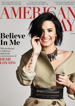 "Demi Lovato, capa da revista ""American Way"""