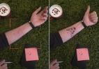 Aplicativo usa realidade aumentada para prever como tatuagem ficará na pele - Divulgação