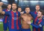 """Barcelona será capa de """"PES 2017"""" e não terá estádio em """"FIFA"""" - Reprodução"""