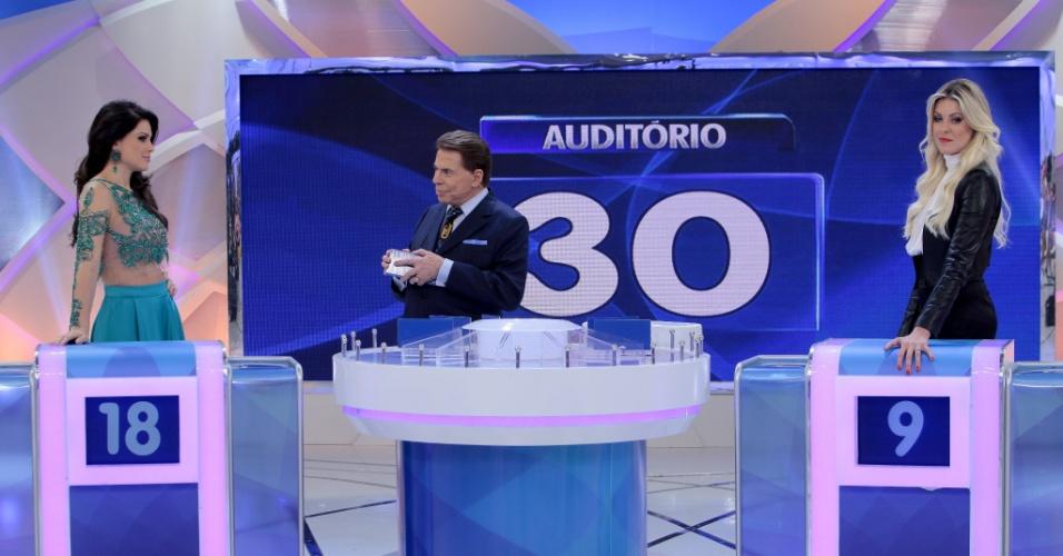 A apresentadora Renata Fan, da Band, e Natália Guimarães, que já realizou trabalhos na Record, gravaram na terça o quadro