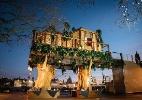 Refeição com vermes é uma das atrações de casa na árvore em Londres - Reprodução/Virgin Holidays