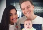Michel Teló se emociona ao ver a filha Melinda de vestidinho estampado - Reprodução/Instagram/@micheltelo