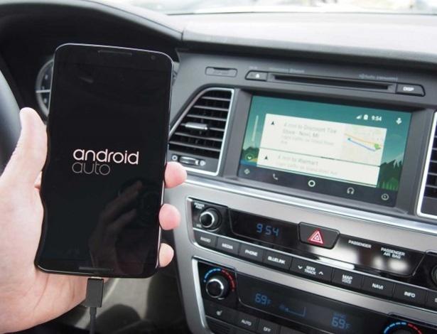 Android Auto chega para ser alternativa ao Apple CarPlay a quem tem usa... Android