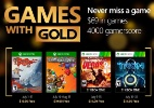 Games with Gold terá