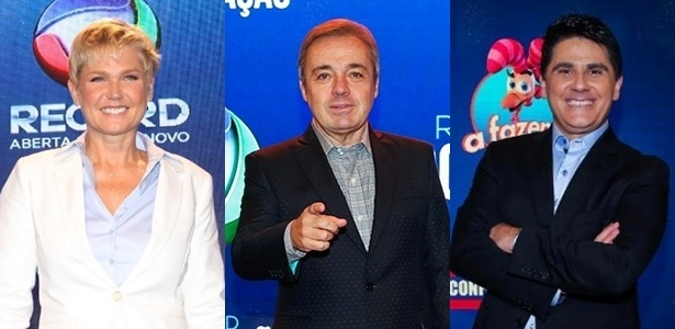 Xuxa, Gugu e César Filho estarão no Teleton