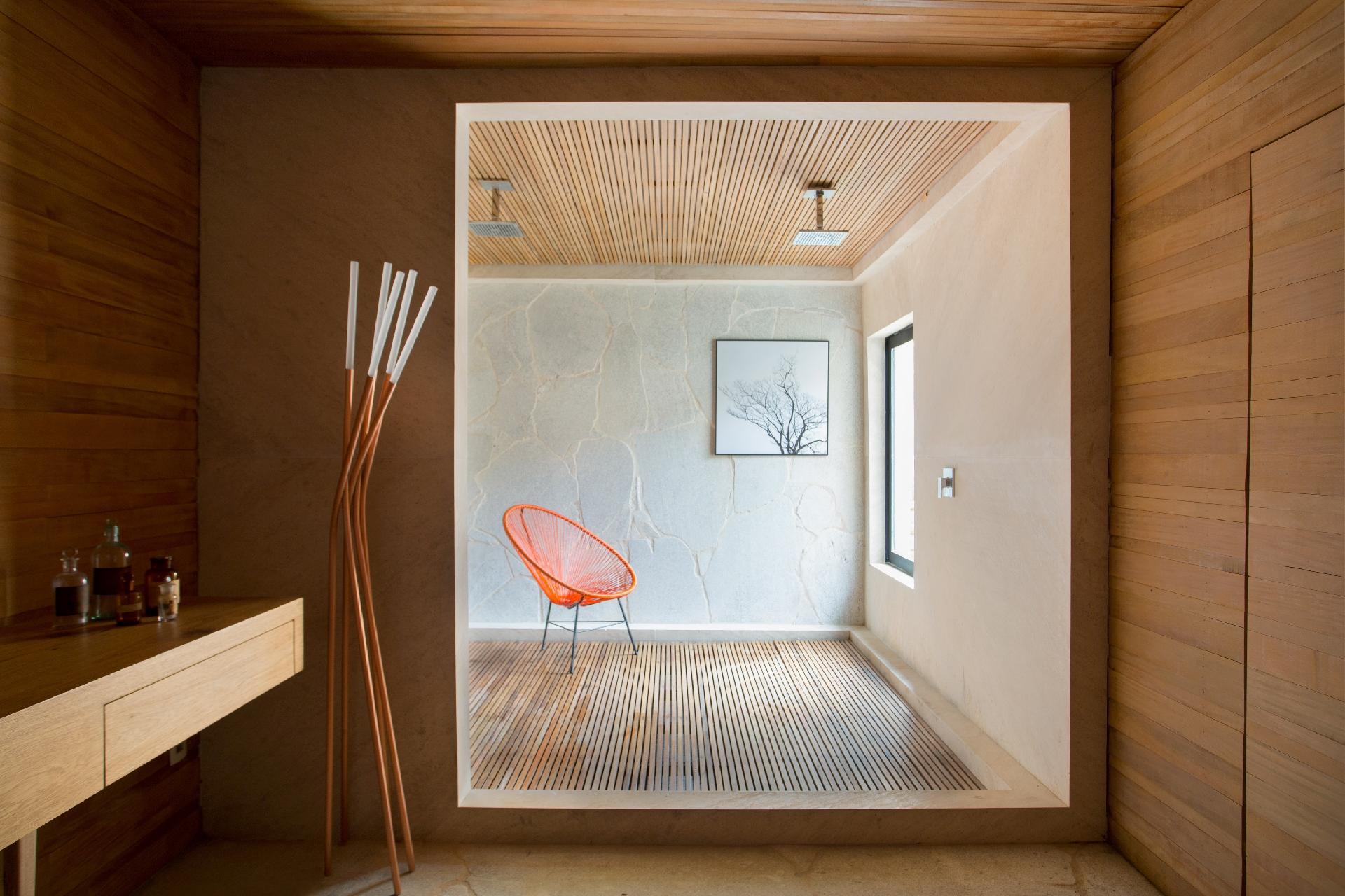 naturais no projeto de sua casa de campo no banheiro da suite  #412108 1920 1280