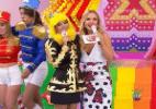 Antes concorrentes, Mara faz cosplay de Xuxa no programa da Eliana - Reprodução/SBT.com.br