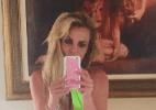 """Magrinha, Britney Spears usa maio revelador e fãs elogiam: """"Barbiezinha"""" - Reprodução/Instagram britneyspears"""