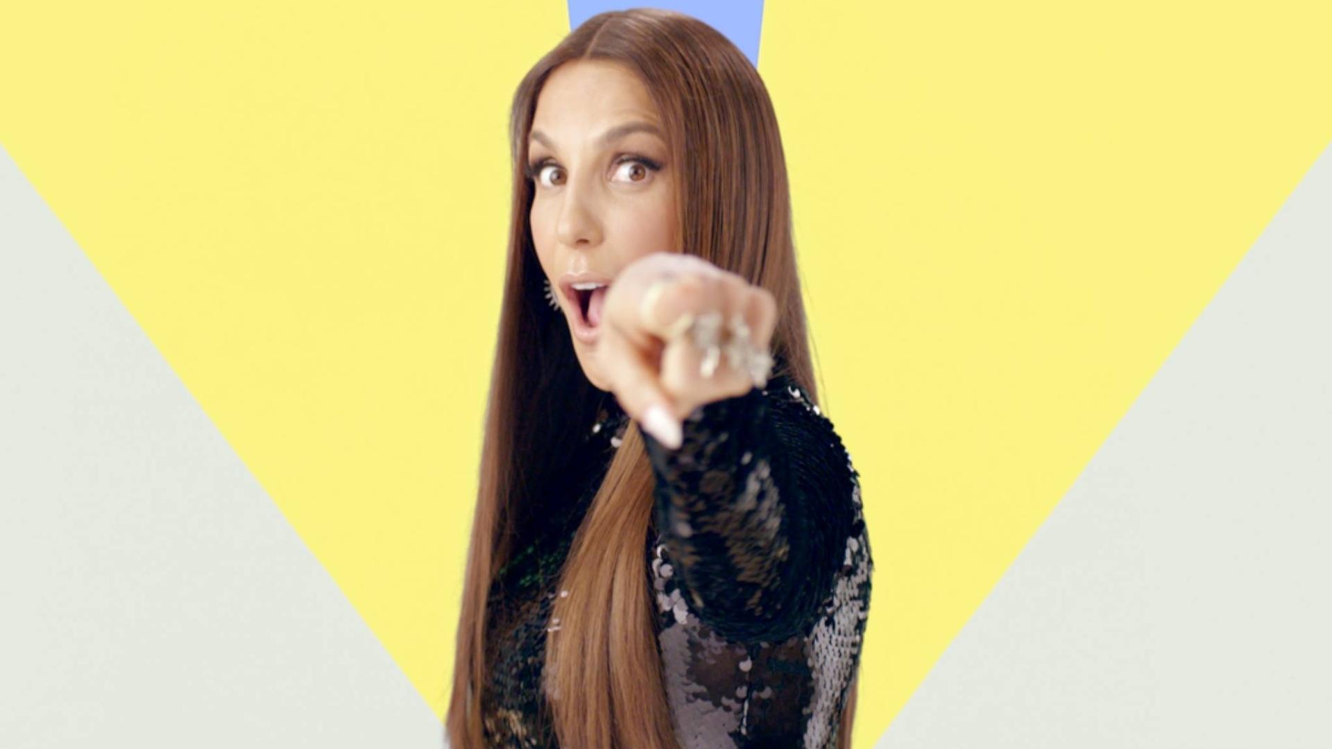 Ivete Sangalo lança clipe 360° para sua nova música,