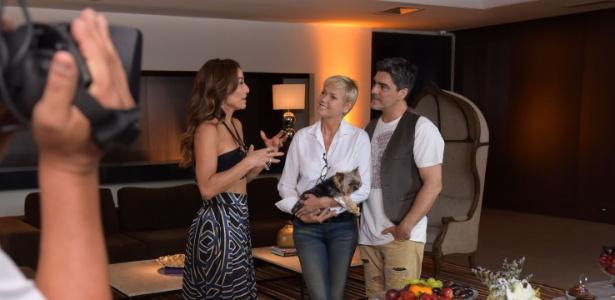 """Xuxa e Junno são entrevistados por Sabrina Sato no """"Programa da Sabrina"""""""