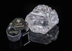 Maior diamante do mundo, avaliado em R$ 247 milhões, será leiloado em breve - Divulgação