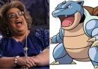 Gazeta joga Pokémon e brinca com ida de Mamma Bruschetta ao SBT - Montagem/UOL