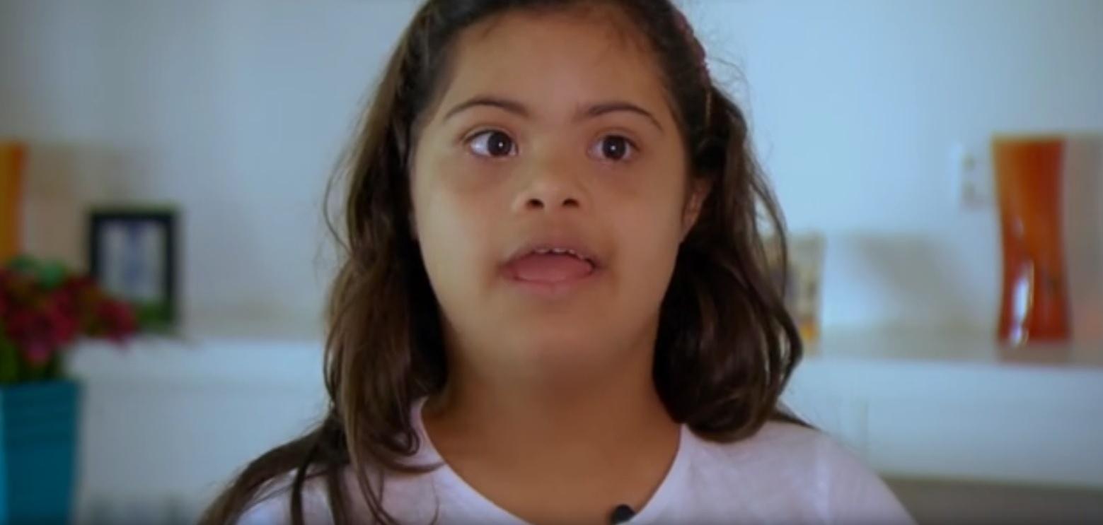 Filha de Romário, Ivy, que tem síndrome de Down, participa da nova série do