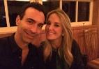 Tralli celebra aniversário com viagem romântica ao lado de Ticiane Pinheiro - Reprodução/Twitter/cesartralli