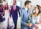 15 perfis no Instagram para se inspirar na hora de escolher o vestido - Reprodução/Instagram/@TheKnot/@Weddingchicks/@wonalexandre/MontagemUOL