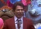 """""""Vídeo Show"""" exibe como sendo da Globo imagens de Silvio na Tupi ou Record - Reprodução/TV Globo"""