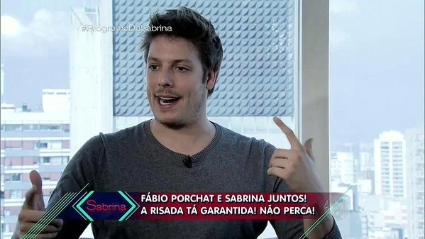 9.jan.2015 - Fábio Porchat