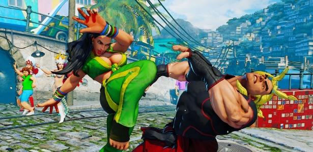"""Favela do Rio de Janeiro será um dos cenários de """"Street Fighter V"""""""