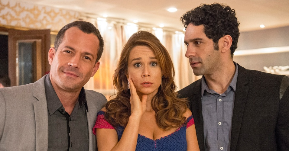 Apolo (Malvino Salvador) , Tancinha (Mariana Ximenes) Beto (João Baldasserini)