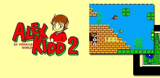 Game feito por fã resgata elementos consagrados do jogo de Master System