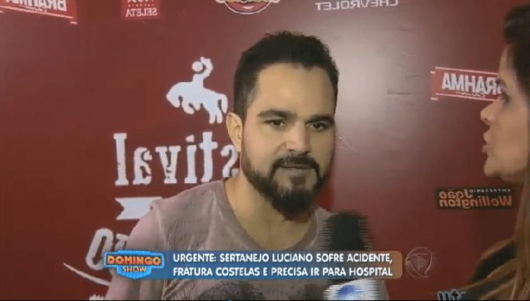 15.mai.2016 - Luciano