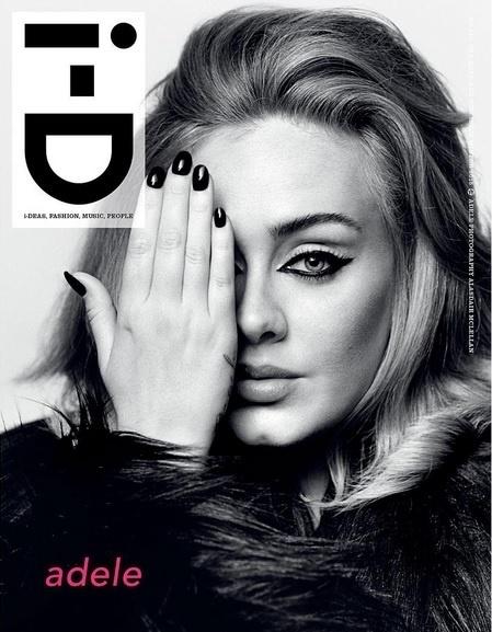 Adele na capa da revista britânica