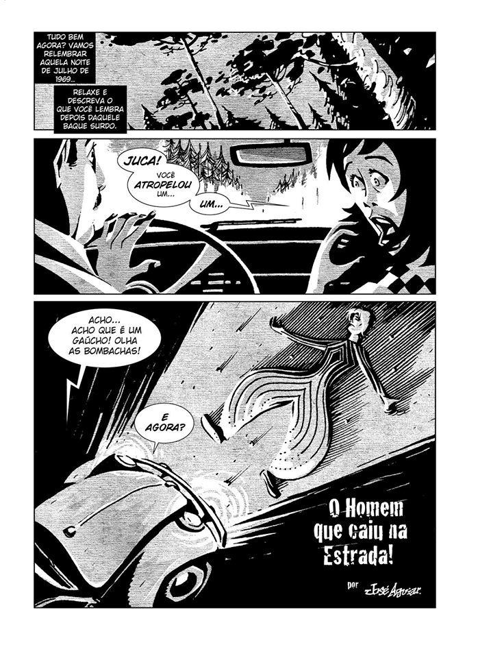 Em formato de quadrinhos, José Aguiar homenageou David Bowie