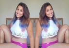 Veja fotos de mulher que superou anorexia após chegar a pesar 28kg - Reprodução/Instagram/@bodyposipanda