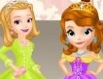 Desfile de Sofia e Amber