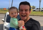 Belutti visita o Rio com o filho, Luís Miguel - Reprodução/Instagram/belutti