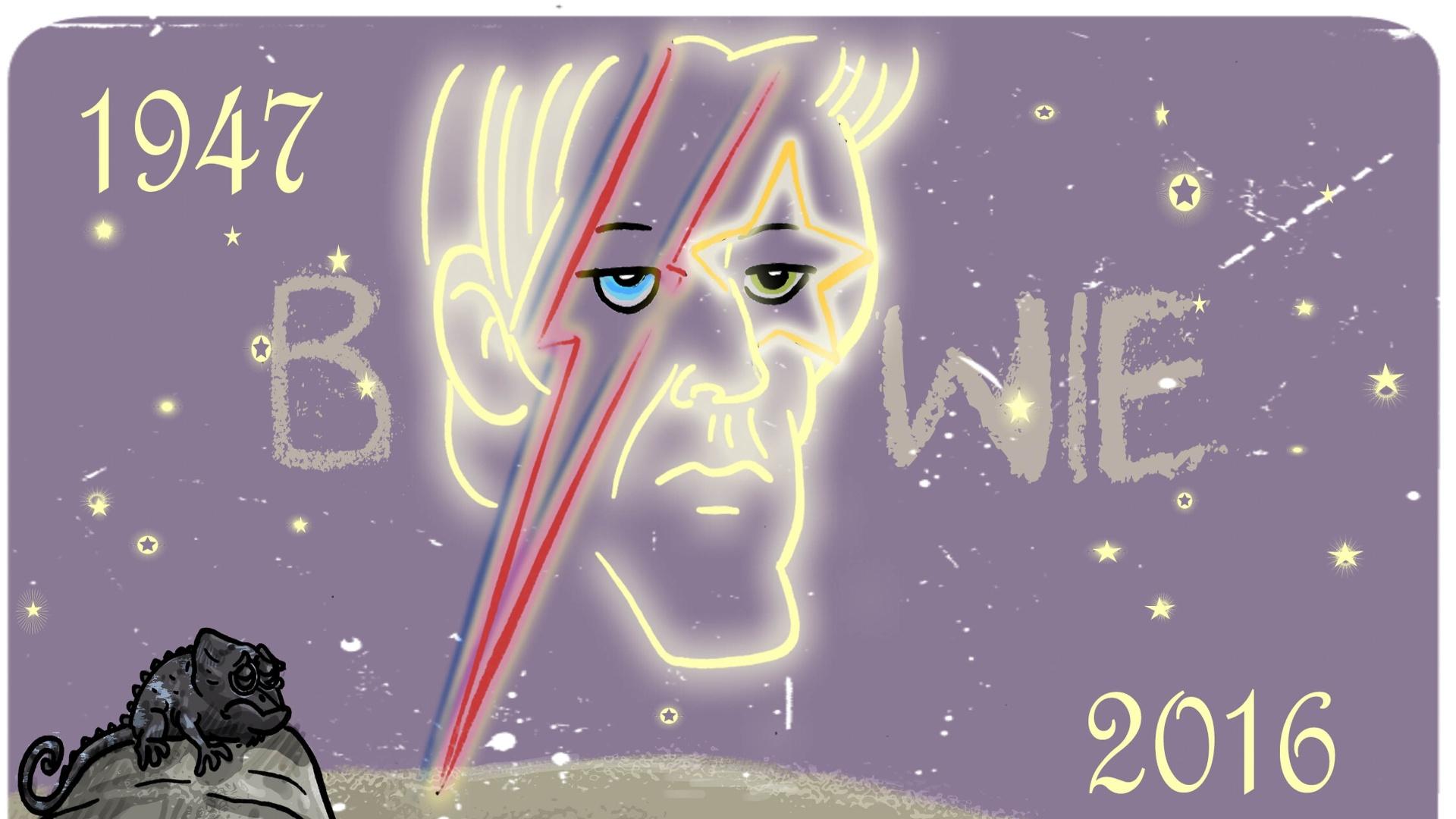 David Bowie nas estrelas foi a homenagem de Ed Carlos ao cantor