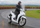 """Scooter de R$ 24 mil, Honda SH 300i quer piloto """"classe A"""" - Divulgação"""