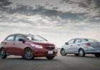 Chevrolet Onix e Prisma Joy 2017 - Divulgação