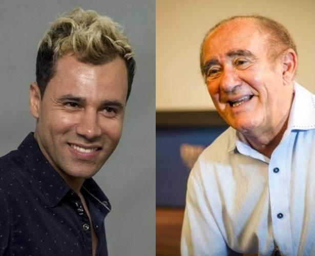 Rodrigo Sant'Anna começou na TV Globo trabalhando com Renato Aragão na