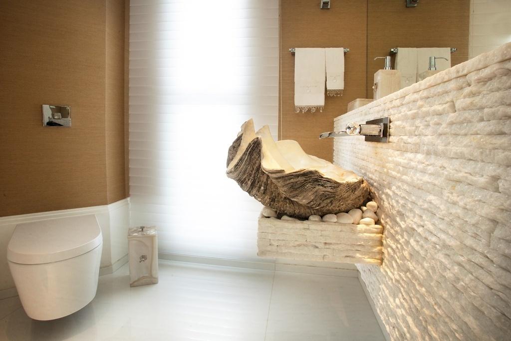 Banheiros sugestões para decoração tendo muito ou pouco espaço  BOL Fotos  -> Cuba Para Banheiro No Df