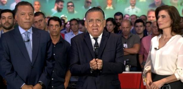 """Galvão Bueno homenageia no """"JN"""" vítimas de acidente aéreo com time da Chapecoense"""