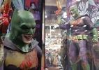 Traje do Batman com traços do Coringa chama a atenção na Comic-Con 2016 - Reprodução/Twitter