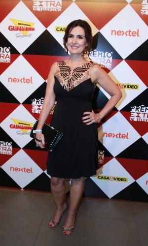 17.nov.2015 - Fátima Bernardes na 17ª edição do Prêmio Extra de Televisão, no Rio de Janeiro