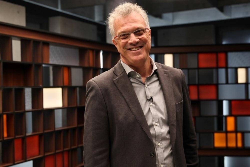 Pedro Bial comanda o programa de entrevistas