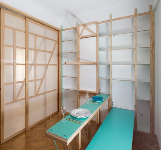 Banco Dois Lugares Sala De Jantar ~ mesa de jantar para dois lugares  que também serve como tábua de