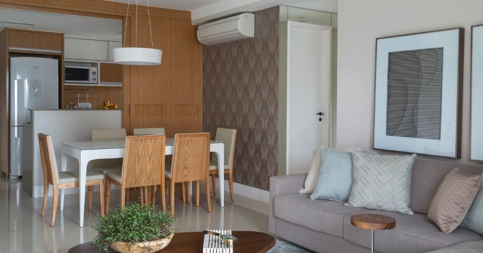 decoracao cozinha flat:Cozinhas integradas – Casa e Decoração – UOL Mulher