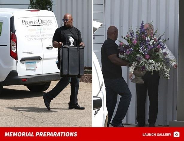Funcionários iniciam preparativos de funeral do cantor Prince, em Minnesota